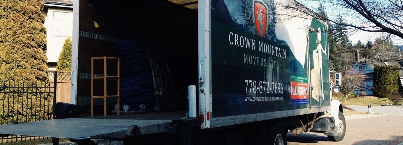 Crown Mountain Movers Truck