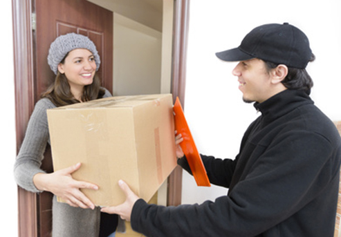 We deliver moving boxes and materials